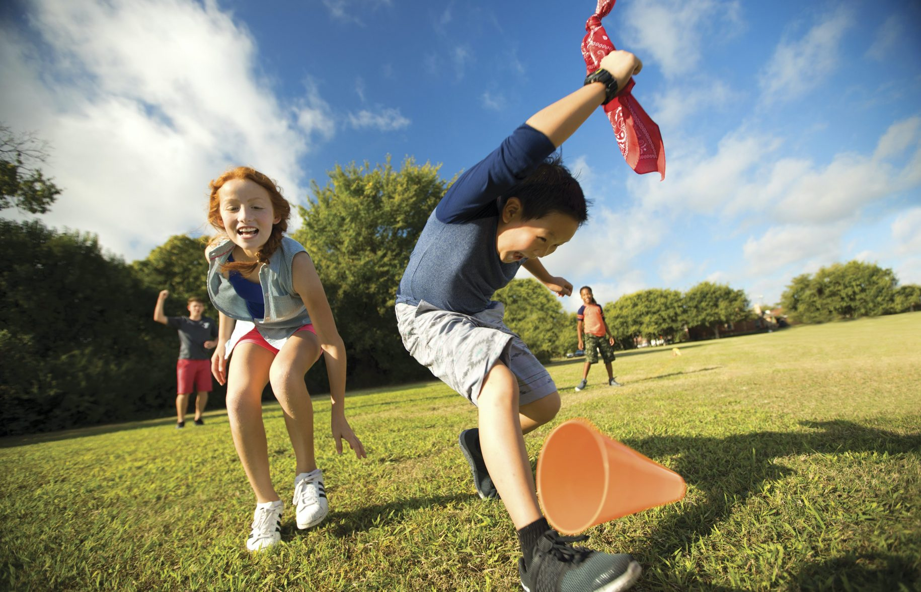 Active Play at the YMCA for Kids