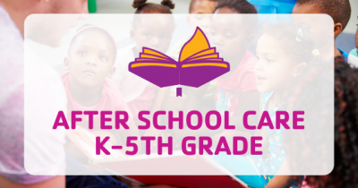 after school care kth-5th grade button