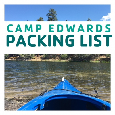 CAMP EDWARDS Packing List (1)