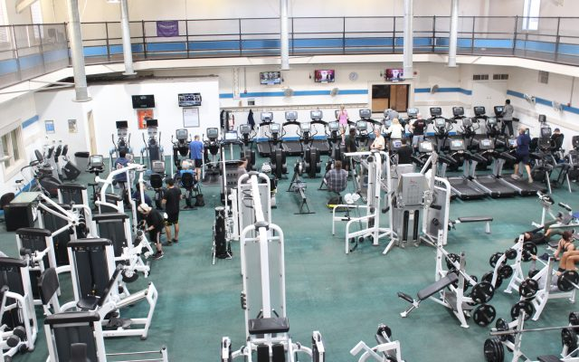 Redlands gym fitness center. Work out with weights, cardio, and strength training equipment