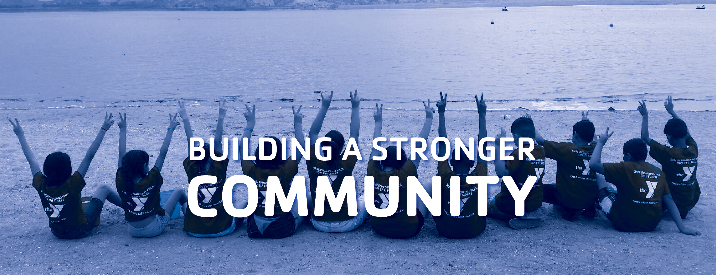 YMCA of the East Valley at a lake building a stronger community.