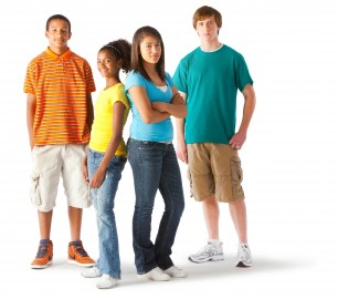 teens-group-standing