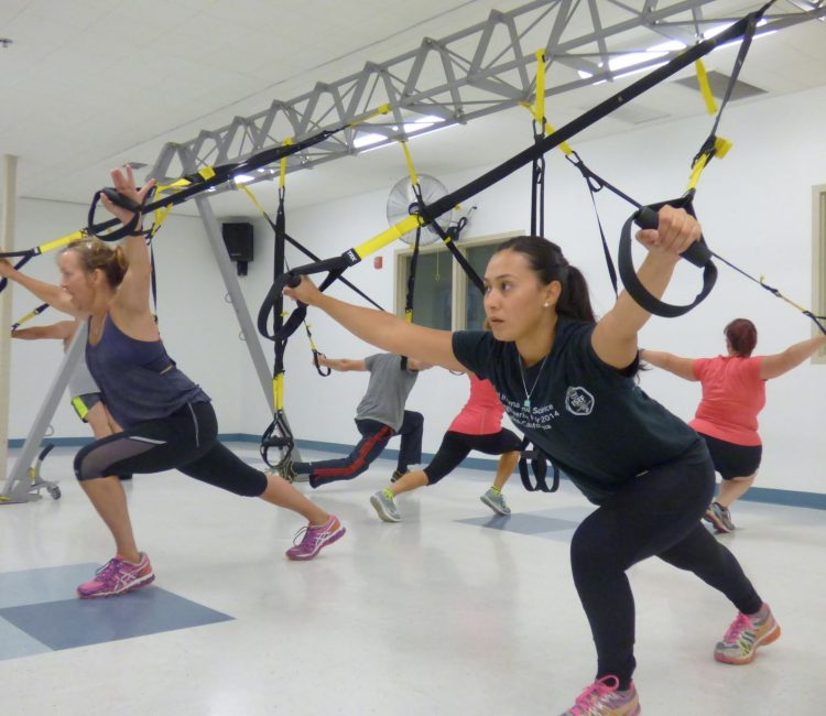 Join our TRX group exercise class at a gym near you